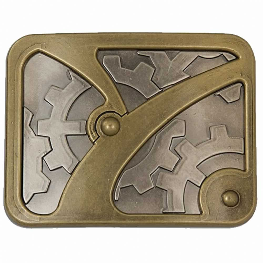 Gearbox Steampunk Trophy Buckle With Display Stand